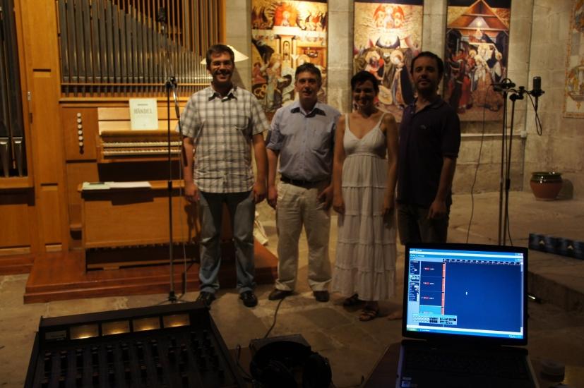 Trio Sekrets i Manuel Sanz. Verdú. Jul 2011.