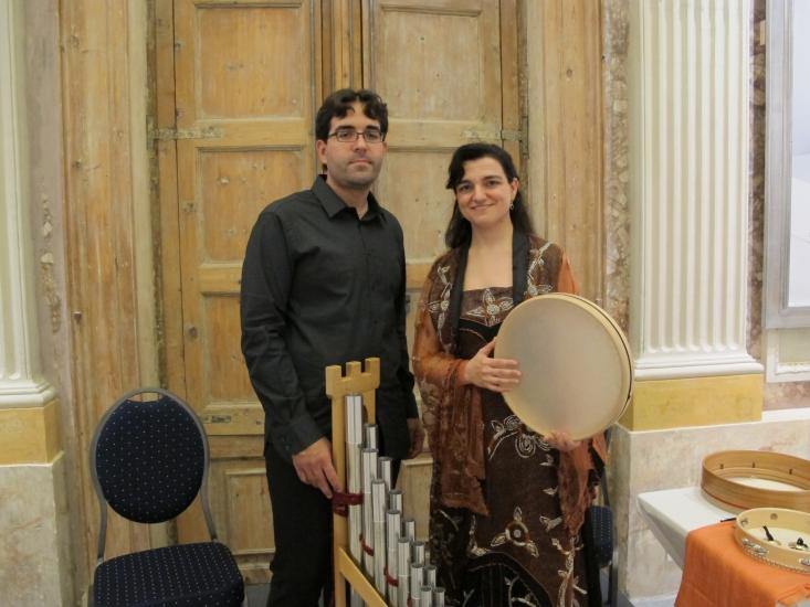 Daniel Buxeda i Olga Miracle