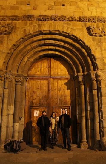 Porta romànica de la Seu d'Urgell